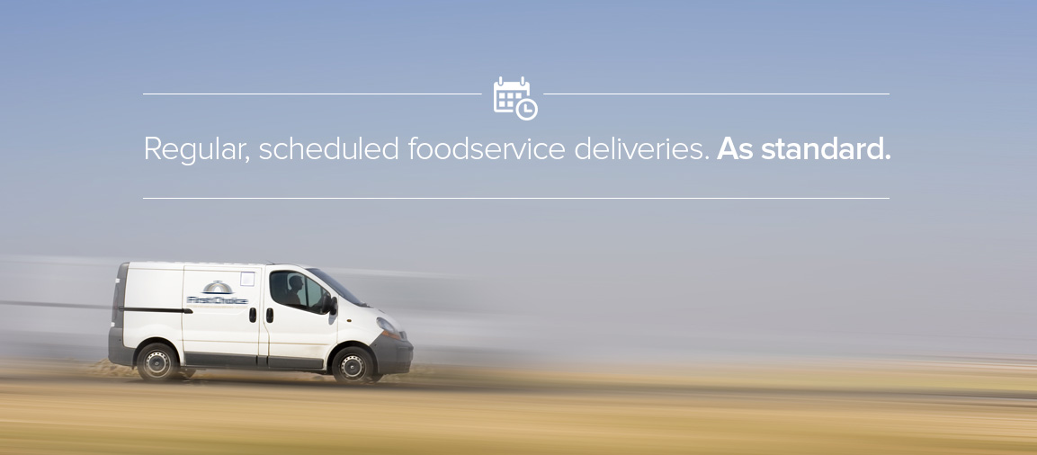 Regular-schedule-foodservice-deliveries