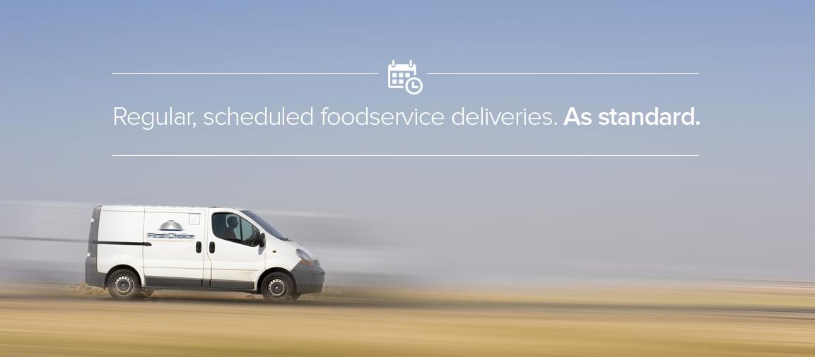 Regular-schedule-foodservice-deliveries