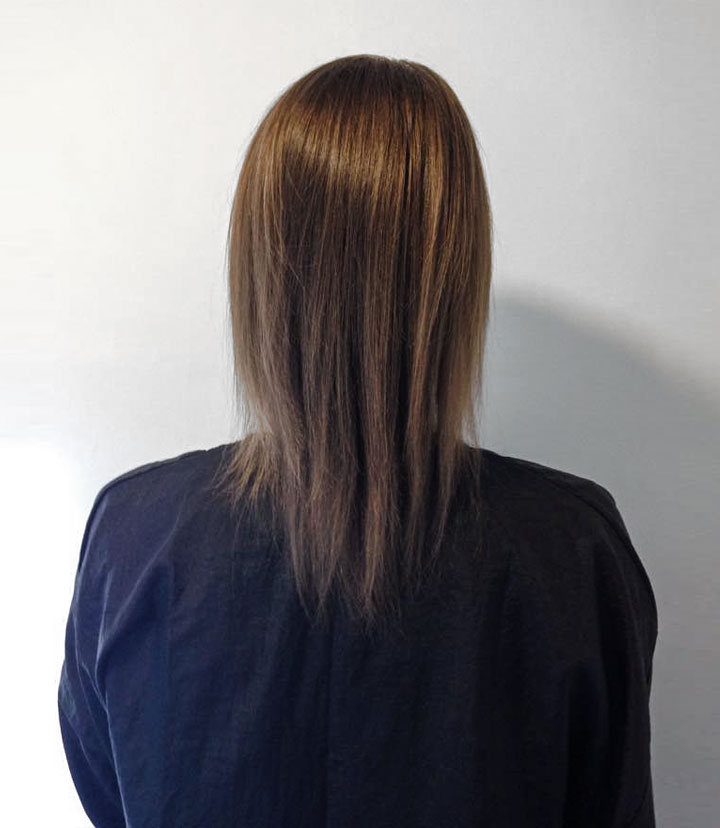Great Lengths Leeds Client - before picture