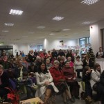 Crowd at Kildare Town Community Library for the launch of the book 'Hearth and Home – a history of social housing in Kildare town 1889-2009'