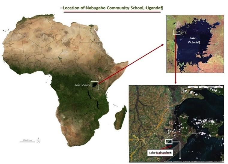 Nabugabo map
