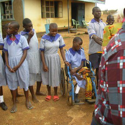 Nangina Special School pupils