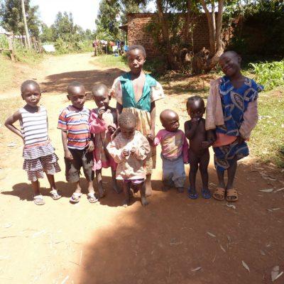 A group of grandchildren