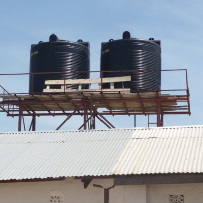 New water tanks