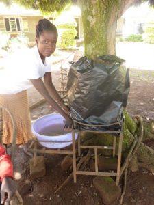 Washing hands at Butula copy